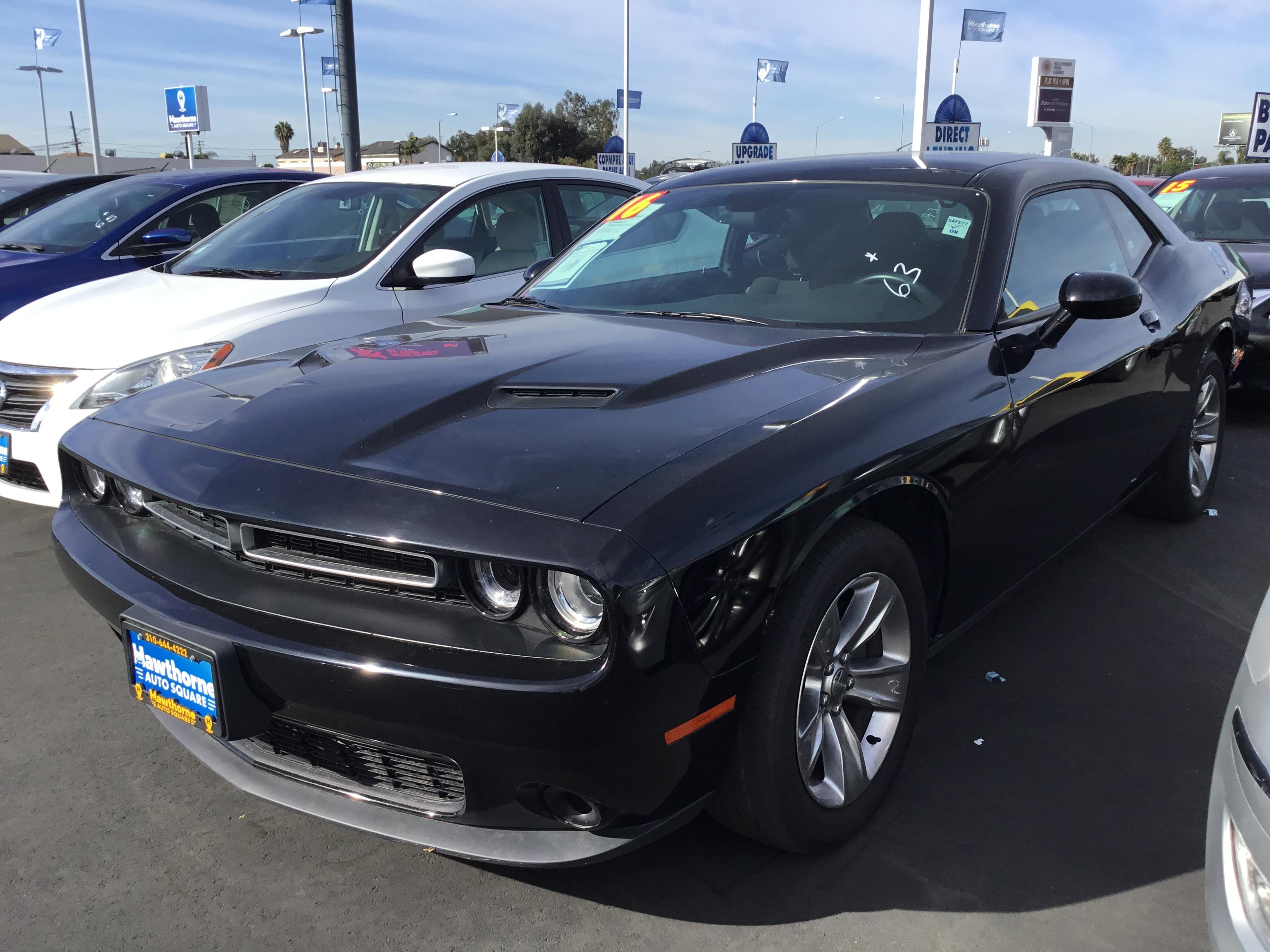 2016 Dodge Challenger Hawthorne Auto Square