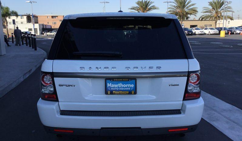 2013 Land Rover Range Rover Sport completo