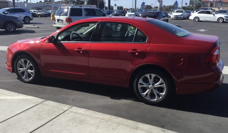 2012 Ford Fusion full