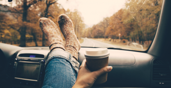 girl-in-car-during-fall-time