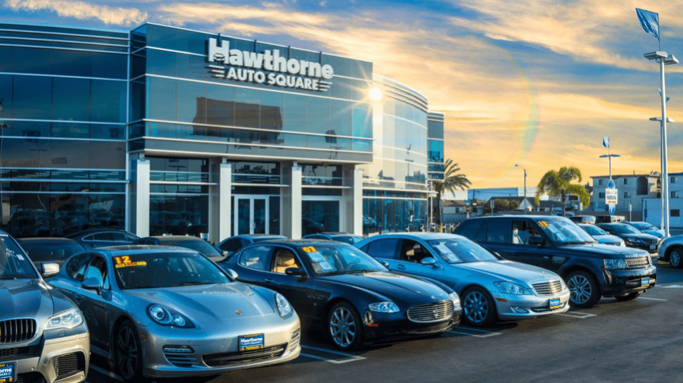 Hawthorne Auto Square Car Lot